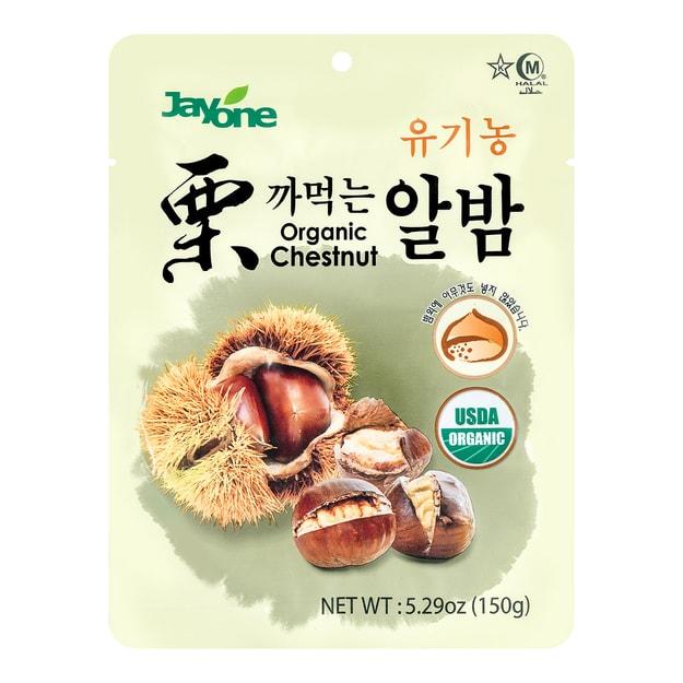 商品详情 - 韩国JAYONE 带壳有机栗子 150g USDA认证 - image  0