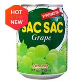 LOTTE Sac Sac Grape Juice 238ml