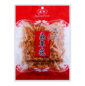 SPRING FARM Dried Cordyeps Militaris Flower 57g