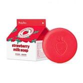[韩国直邮] DAILY SKIN 天然草莓牛奶香皂100g