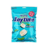 LOTTE ANYTIME Milk & Mint Candy 74g