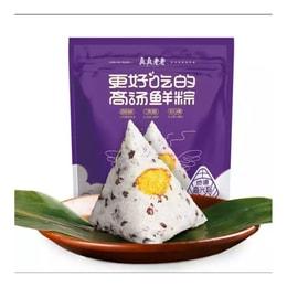 [中国直邮] ZHENZHENLAOLAO 真真老老紫米栗蓉粽子嘉兴特产100g*2只