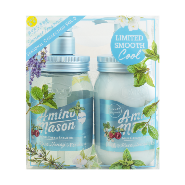 Product Detail - AMINO MASON Fragrance of Mint Blossom Bouquet Smooth Set - image 0