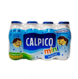 CALPICO Non-Carbonated Mini Soft Drink 4Packs -Yogurt Flavor