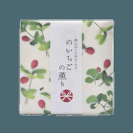 日本香堂||山野的祝福 线香12支||野草莓