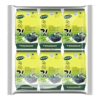 韩国农业协会 绿茶海苔 12包