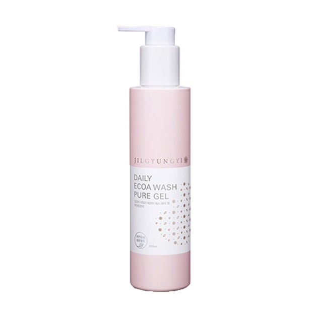 JILGYUNGYI Daily Ecoa Wash Pure Gel Pink 200ml