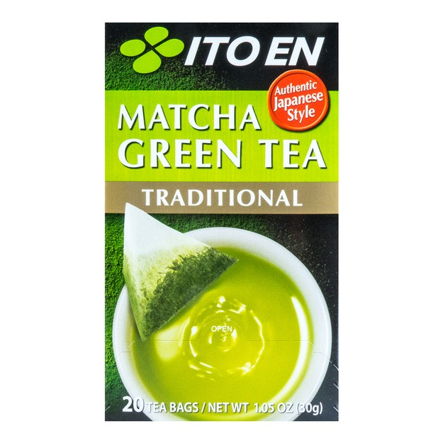 ITO EN Matcha Green Tea Traditional 20bags 30g