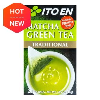 日本ITO EN伊藤园 传统抹茶绿茶包 20包入 30g