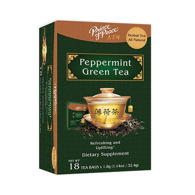 【Clearance】PRINCE OF PEACE Peppermint Green Tea 18teabags