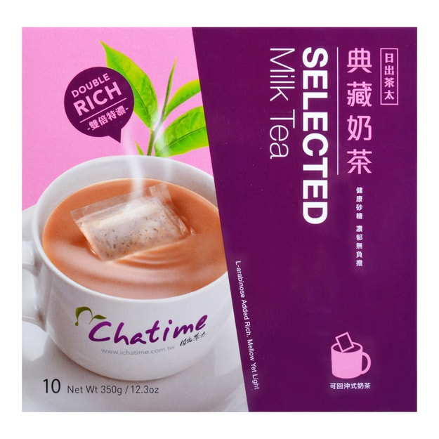 CHATIME Selected Milk Tea 10 Bags 350g
