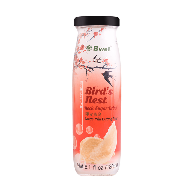Product Detail - BWELL Bird\'s Nest Rock Sugar Drink 180ml - image 0