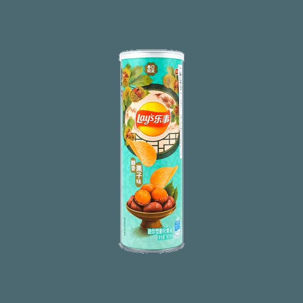 商品详情 - 乐事 薯片 醇香栗子味 桶装 90g - image  0