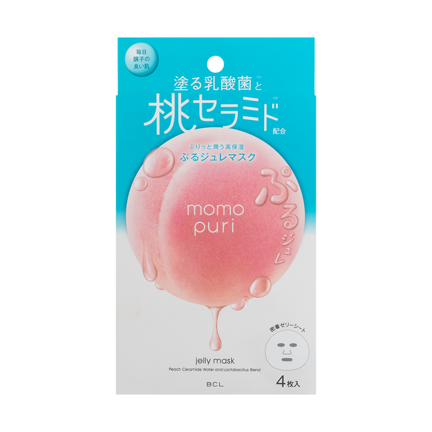 Product Detail - MOMO PURI Jelly Mask 4pcs - image  0