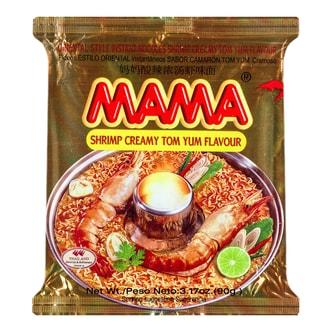 泰国MAMA妈妈 冬阴功酸辣浓汤虾味方便面 90g