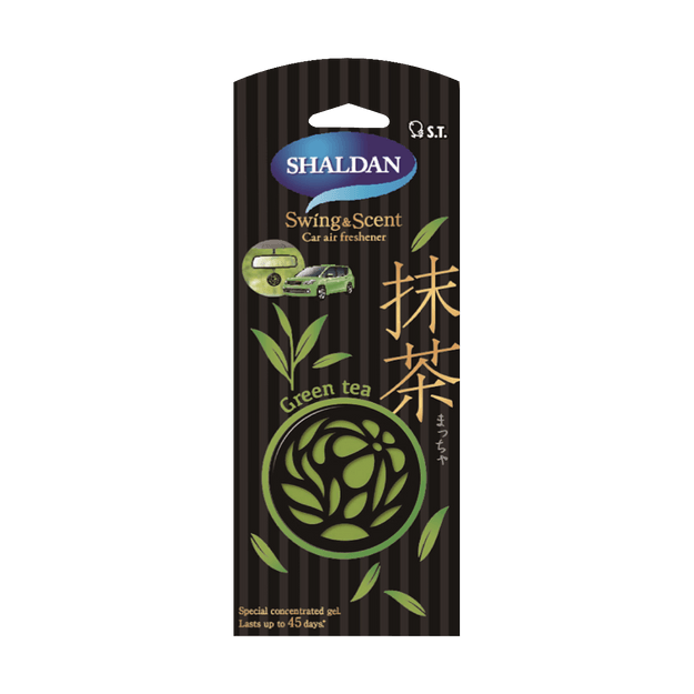 Product Detail - ST SHALDAN Car Air Rfresher Swing&Scent #Green Tea - image 0