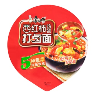 MASTER KONG Tomato Flavored Instant Cup Noodle 108g