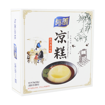 Rice Jelly (Brown Sugar Flavor) 240g