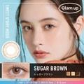 华晨宇同款 Glam up -3.50度日抛彩色美瞳 Sugra Brown 蜜糖棕 10片 预定3-5天日本直发