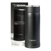 ZOJIRUSHI Stainless Steel Thermal Bottle Black 360ml SM-LB36-BZ