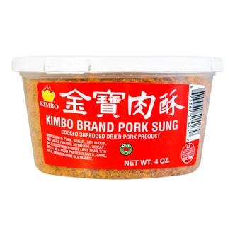 台湾KIMBO金宝 肉酥 盒装 113.4g USDA认证