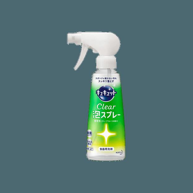 商品详情 - 日本KAO花王 Clear 强效泡沫除菌洗洁精 西柚香 300mL 喷射式 - image  0