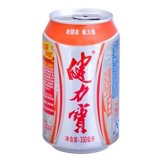 健力宝 橙蜜味 运动饮料 330ml