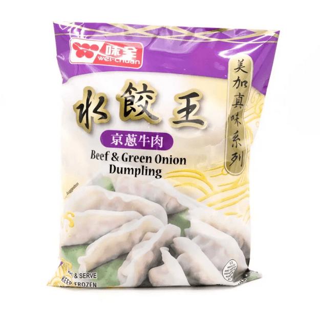 商品详情 - 味全 水饺王 美加真味系列 京葱牛肉 21oz - image  0