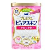 日本BATHCLIN巴斯克林 胶原蛋白+大豆提取物 奢华沐浴盐  600g