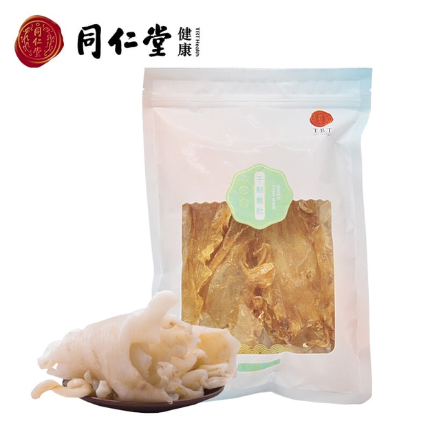Product Detail - TONG REN TANG Dried Clean Cod Fish Maw Fish Gelatine Healthy Nutrition Collagen 135g - image 0