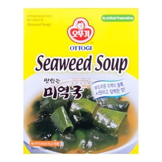 韩国OTTOGI不倒翁 速食韩式传统海带汤 2回份 18g