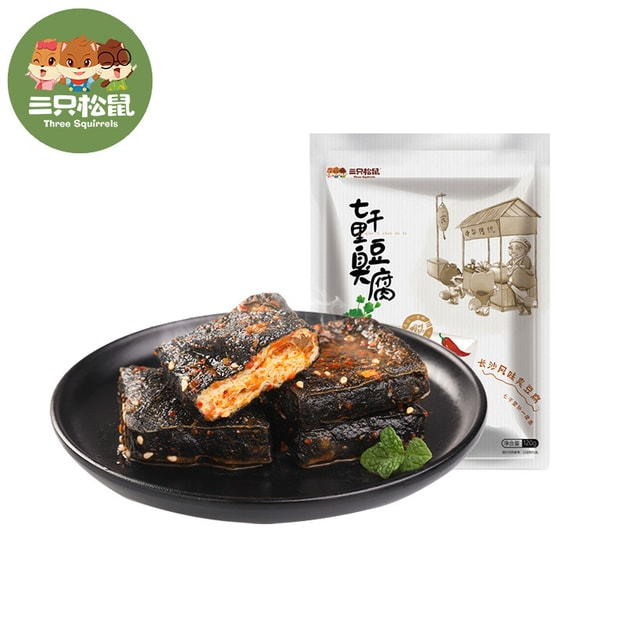 THREE SQUIRRELS  Stinky tofu 120g