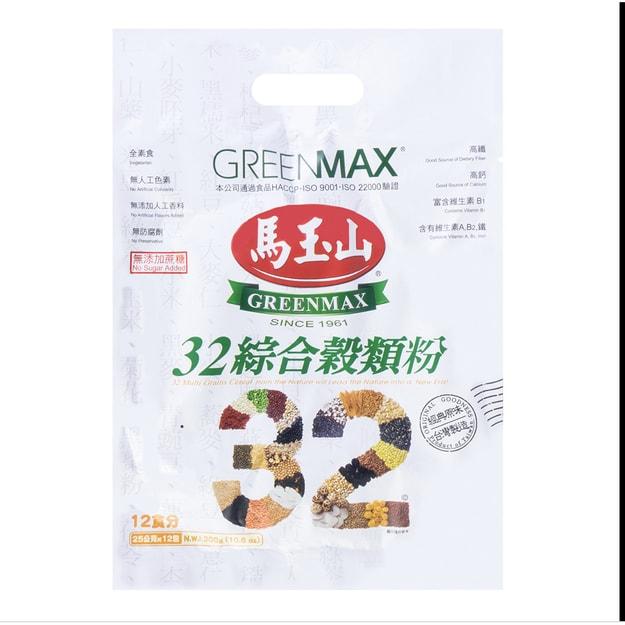 商品详情 - 台湾马玉山 高纤无添加32种综合谷物粉 12包入 300g - image  0