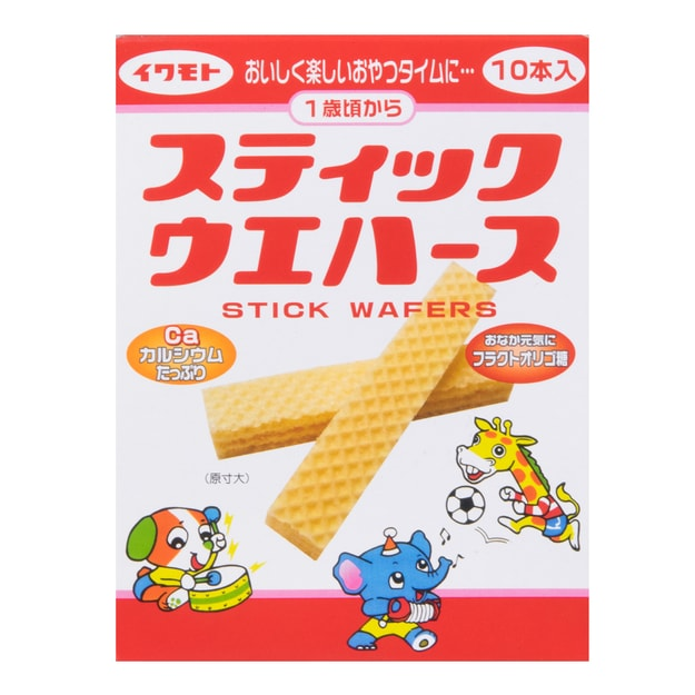 Product Detail - IWAMOTO STICK WAFERS 24g 12M+ - image 0