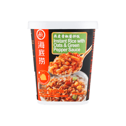 Instant Rice with Oats & Green Pepper Sauce 142g
