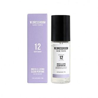 W.DRESSROOM Dress & Living Clear Perfume No.12 (Very Berry) 70ml