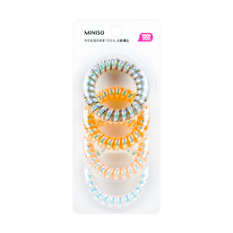 Miniso Spiral Hair Tie 4 Colors