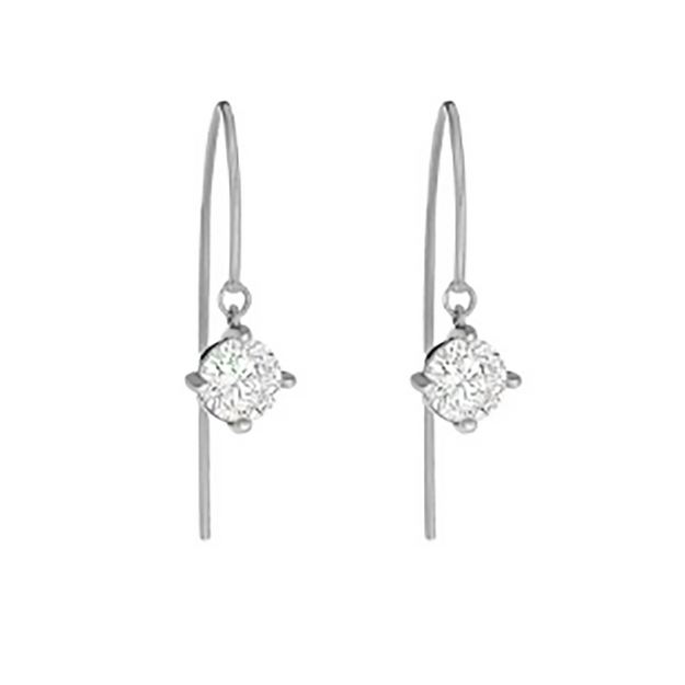 Product Detail - JDREY 14K Handmade CZ Drop Earrings 1 Pair - image 0