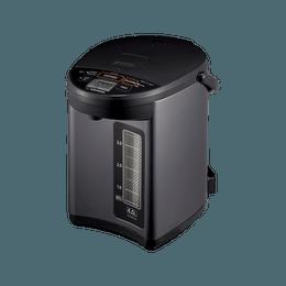 【日本制造】日本ZOJIRUSHI象印 即热式饮水机 微电脑智能节能保温电热水壶 4L CD-NAC40BM (赠送 象印不锈钢保温茶杯带手柄 价值49美元 白色蓝色,棕色随机发送)