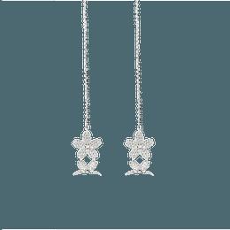 IHUSH Fleur de Cerisier Earrings (Silver color) 2 pieces