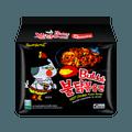 韩国SAMYANG三养 超辣鸡肉味拌面 5包入 700g