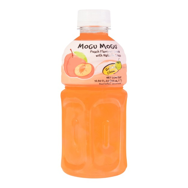 Product Detail - MOGU MOGU Peach Flavored Drink With Nata De COCO 320ml - image 0