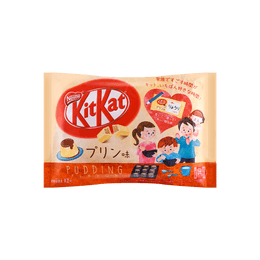 Chocolate Wafer Pudding Flavor 12pc