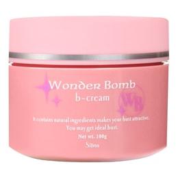 日本SIBREA Wonder Bomb 夜间强化乳房细胞特效丰胸霜 100g