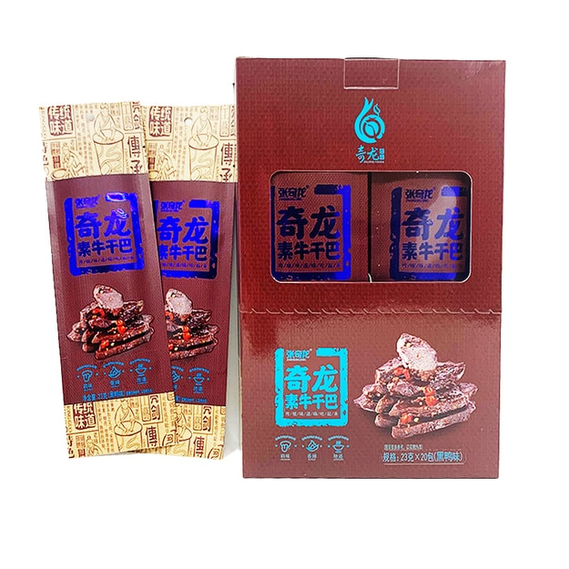 Product Detail - ZHANGQILONG Tofu Strips Braised Flavor 23g*20 bags - image 0
