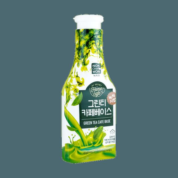 商品详情 - 韩国HAITAI 奶茶浓缩液 奶茶基 抹茶味 450g - image  0