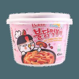 韩国SAMYANG三养 超辣炒年糕 奶油味 碗装 179g