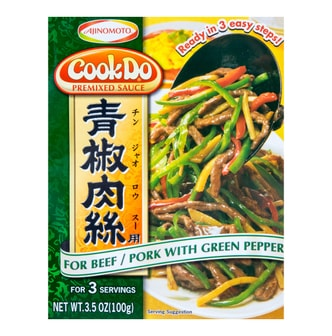 日本AJINOMOTO COOK DO 青椒肉丝调料 100g
