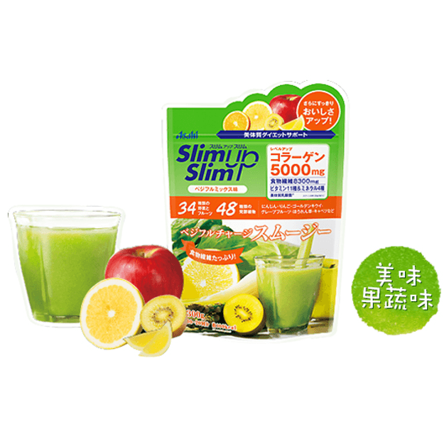 ASAHI slim up slim fruits  milk shake 300g