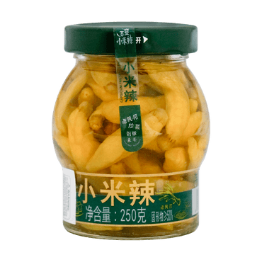 JIAXIAN Capsicum Frutescens Preserved Pickle Chili 250g